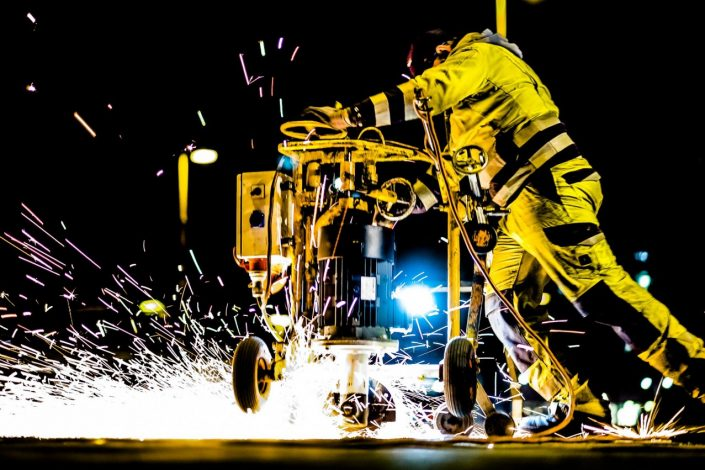 Bauarbeiter in Wien